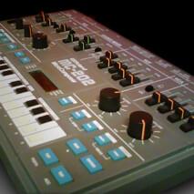 Roland MC-202 -gate modaus